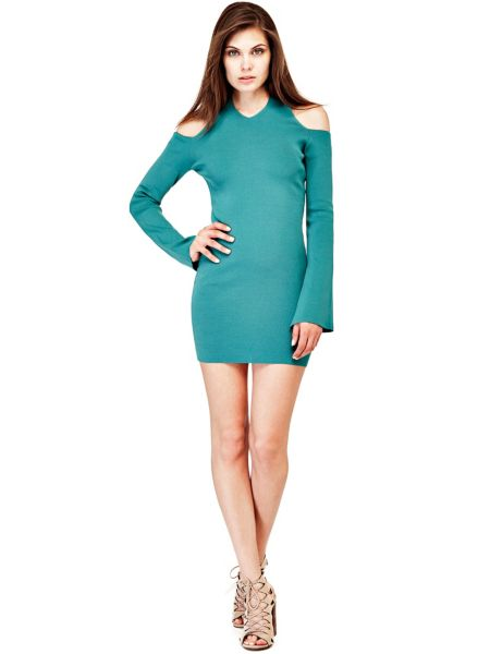 Kleid Offene Schultern - Guess