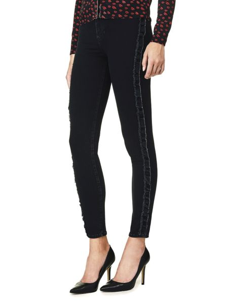 Jeans Rouches Laterali
