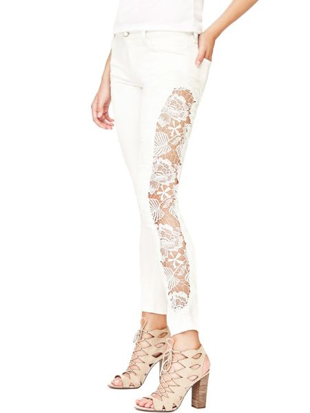 Jeans Pizzo Laterale