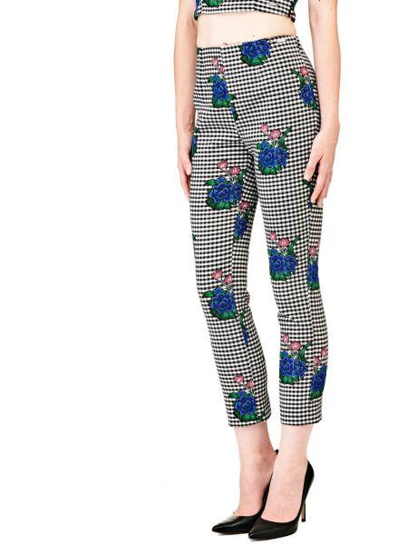 Imagen principal de producto de Pantalón Motivo De Cuadros Flores - Guess