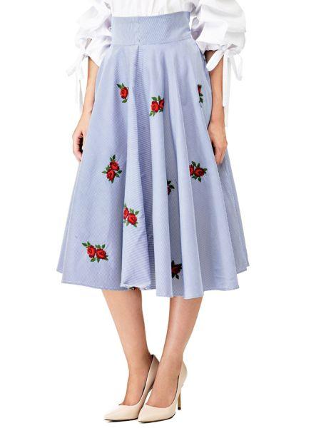 Imagen principal de producto de Falda Bordados Rosas - Guess