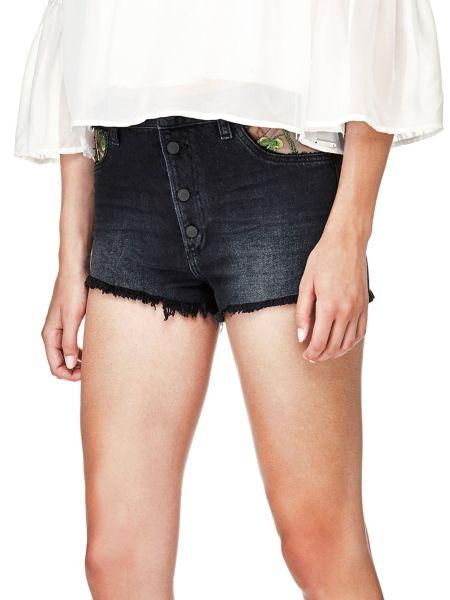 Imagen principal de producto de Shorts Vaqueros Bordados - Guess
