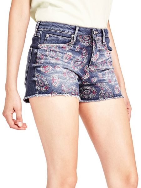 Imagen principal de producto de Shorts Vaqueros Estampado - Guess