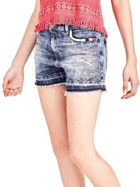 Imagen principal de producto de Shorts Vaqueros Detalles Frontales - Guess