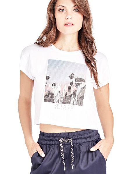 Imagen principal de producto de Camiseta Lentejuelas Frontales - Guess