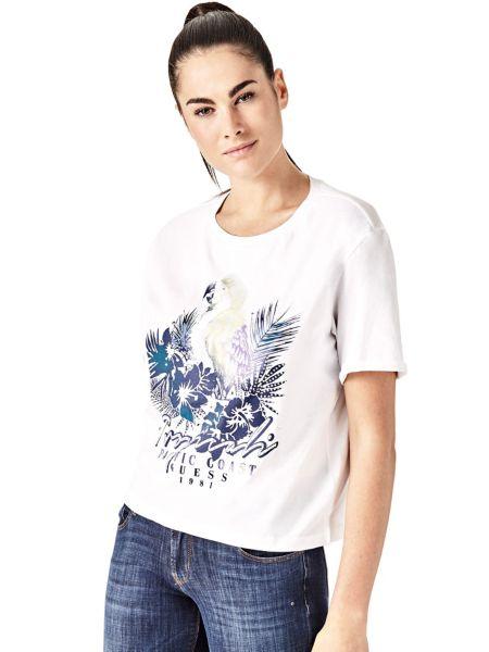 Imagen principal de producto de Camiseta Estampado Frontal Cordones - Guess