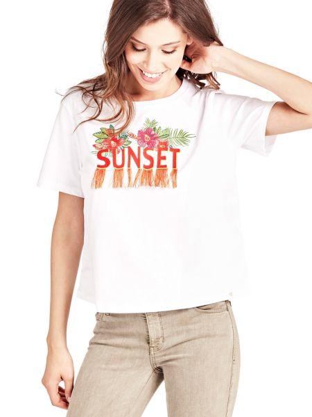 T-Shirt Ricamo Frontale