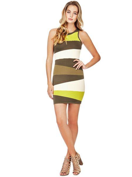 Kleid Kontrastfarben - Guess
