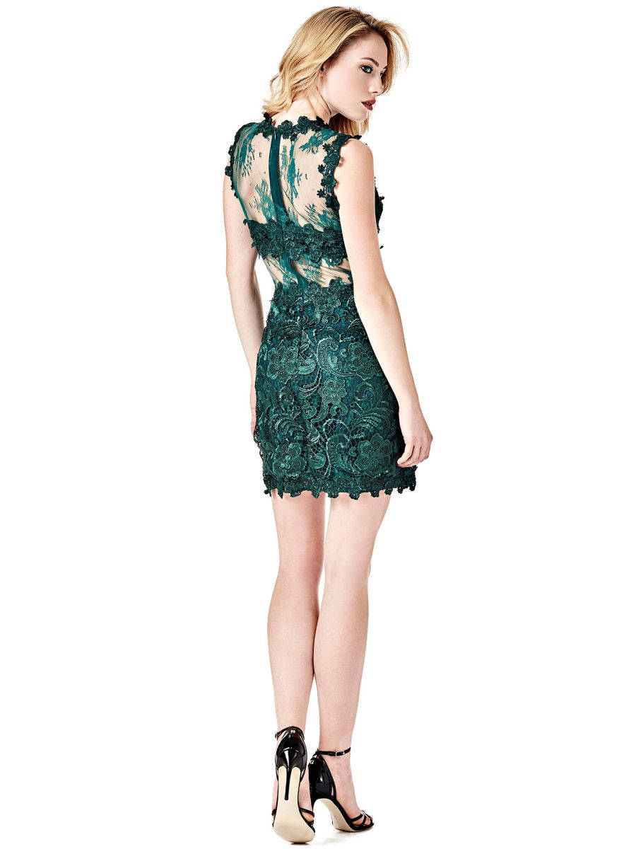 Guess Guess Transparent Lace Dress At 95 Love The Brands
