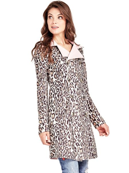 Wende-Trenchcoat | Bekleidung > Mäntel > Trenchcoats | Rose | Polyester | Guess