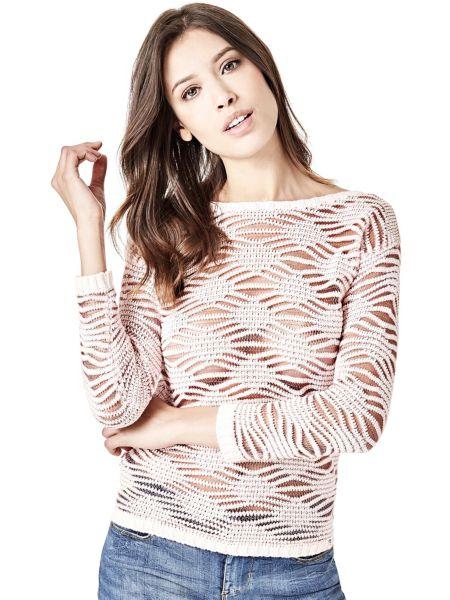 Imagen principal de producto de Suéter Tejido De Punto Transparente - Guess