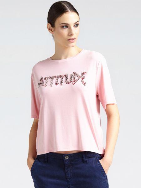 Imagen principal de producto de Camiseta Estampado Aplicaciones - Guess