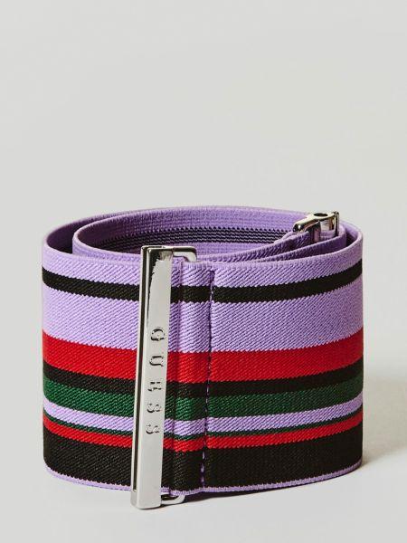 Imagen principal de producto de Cinturón Elástico Motivo De Rayas - Guess