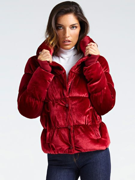 Guess - Guess Puffer Jacket With Storage Bag - 1