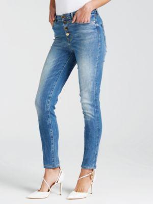 Jeans Modello 5 Tasche Glitter