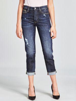 Jeans Dettaglio Abrasioni