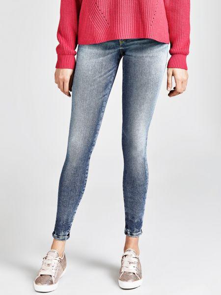 Jeans Skinny | Bekleidung > Jeans > Sonstige Jeans | Himmelblau | Jeans - Baumwolle - Polyester | Guess