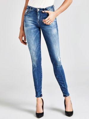 Jeans Skinny Abrasioni
