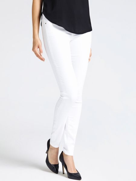 Jeggings Skinny Super-Stretch | Bekleidung > Jeans > Jeggings | Weiß | Baumwolle | Guess