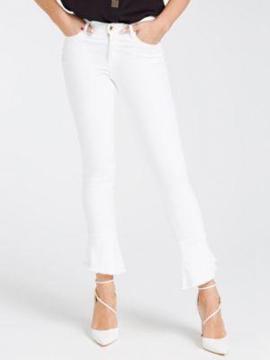 Jeans Modello 5 Tasche Svasato