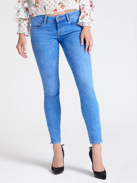 5-Pocket-Jeans Slim | Bekleidung > Jeans > 5-Pocket-Jeans | Blau | Jeans - Baumwolle - Polyester | Guess