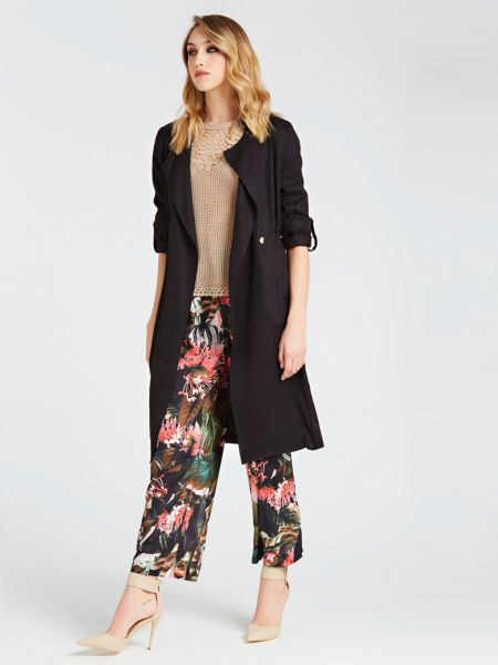 Guess - Classic Tie-Front Trench - 2