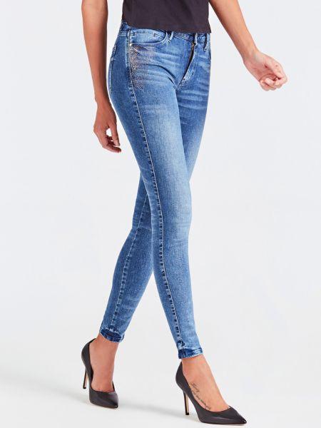 5-Pocket-Jeans Used-Optik   Bekleidung > Jeans > 5-Pocket-Jeans   Blau   Baumwolle - Denim   Guess