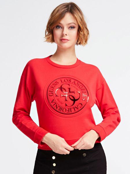 Sweat-Shirt Imprime Logo Effet Lame