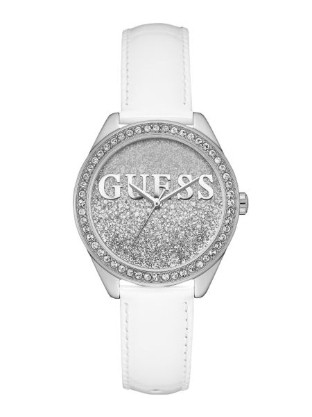 Image of Guess Ladies Trend Real Leather Watch