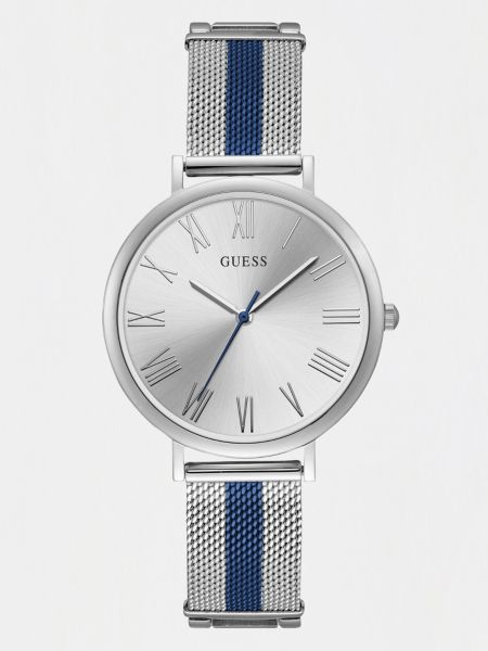 Analog-Armbanduhr Zweifarbig | Uhren > Sonstige Armbanduhren | Silber | Guess