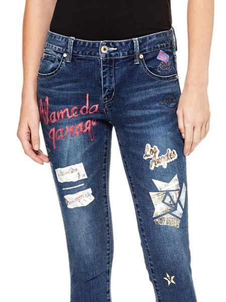 Jeans Applicazione Toppe