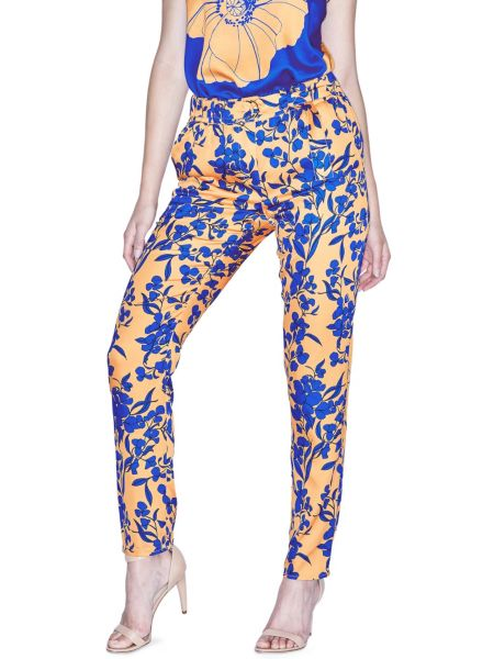 Pantalon marciano fleurs