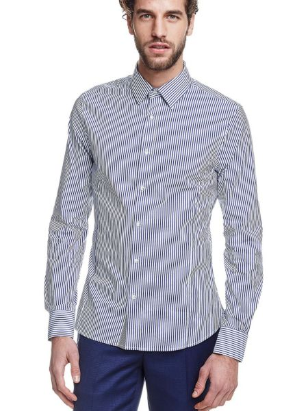 Chemise marciano a rayures