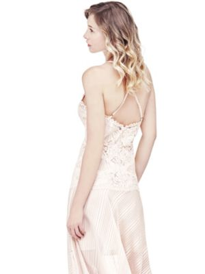 Guess banded lace dress