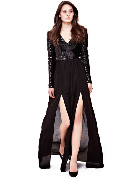 Robe longue marciano paillettes