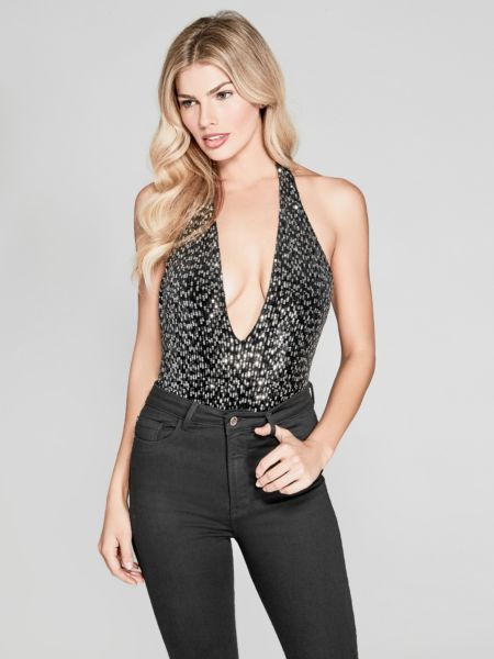 Body marciano paillettes