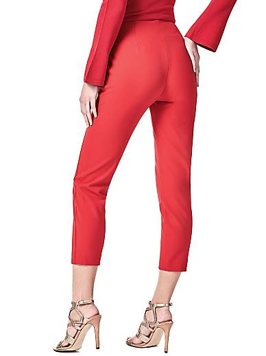 Pantalone Marciano Modello Capri guess rosso Poliestere