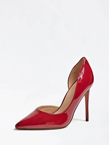 guess bags sale, GUESS Zapato de salón Rojo mujer Calzado