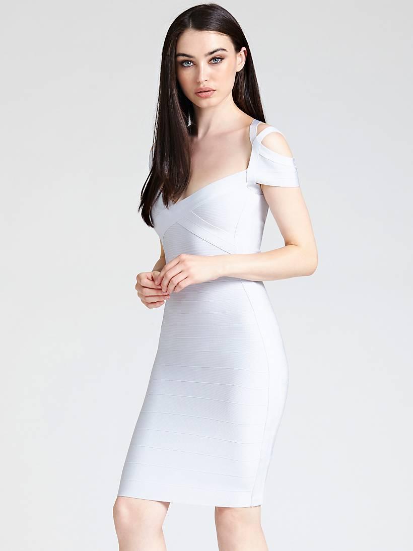 Bandage Kleid TrägerGuess eu Marciano Überkreuz tsrQhdCx