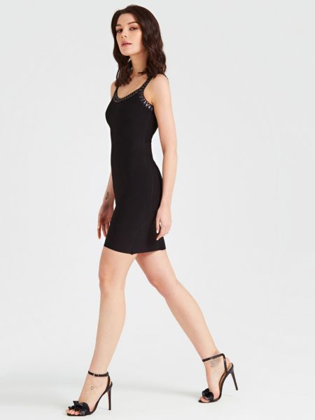 GUESS Bandage-Kleid Marciano Applikationen