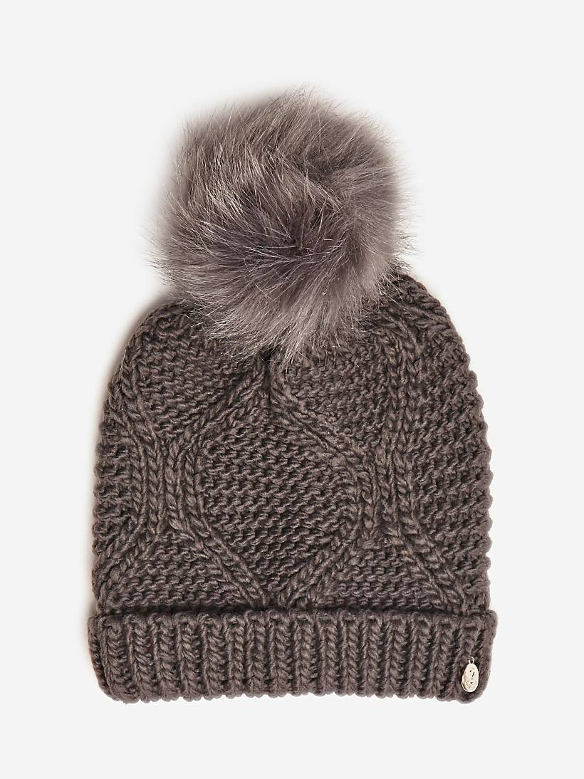 MULTI-COLOURED POMPOM HAT  eb4ebd632ec
