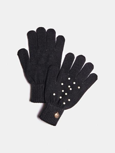 GUESS Handschuhe Perlenbesatz