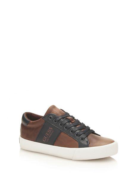 Sneaker theo en cuir
