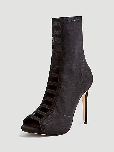 7eb4e3b353 AZRAEL ANKLE BOOT WITH FRONT STRAPS