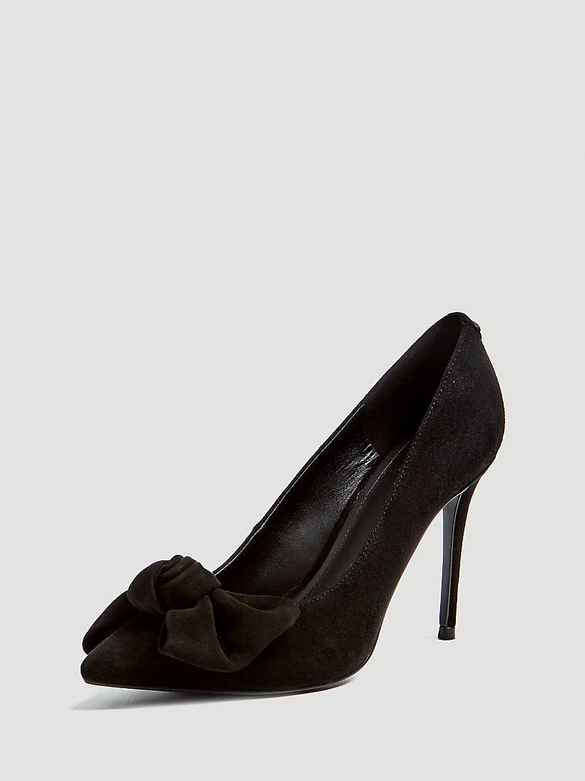 e32c3a4357b BENNET REAL LEATHER COURT SHOE