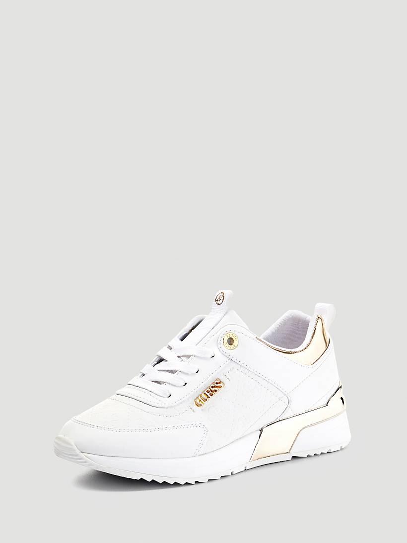 9d9c0c1aa52637 Sneaker Qxnpwvyhxt Logo Eu Marlyn Guess Imprime TcF51uKJl3