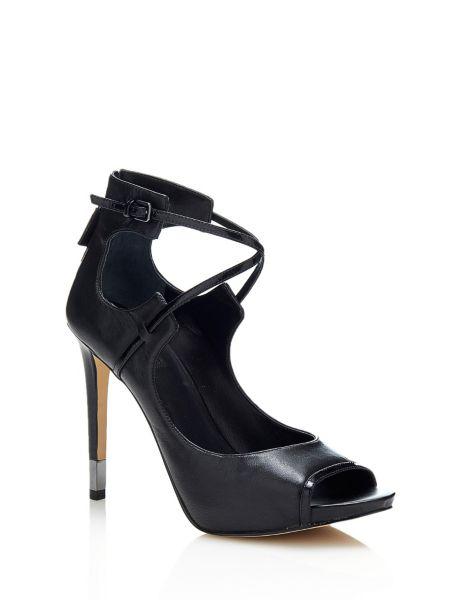 Chaussure appley en cuir