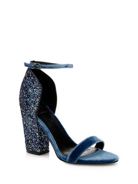 Sandale bambam en velours