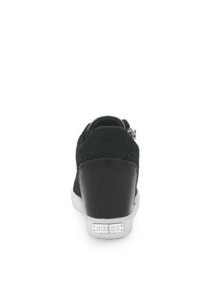 Sneaker Compensee Fierze Dentelle
