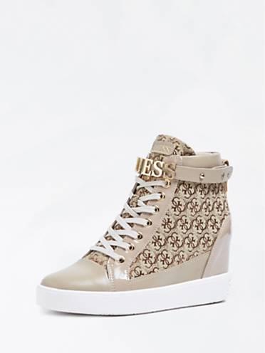 Guess Sneaker-Wedges Furrley Logo 2xmXPfdgO